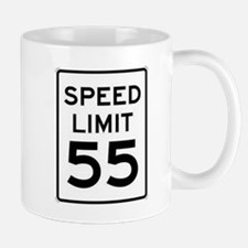 55-MPH Speed Limit Day Mugs