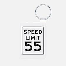55-MPH Speed Limit Day Keychains