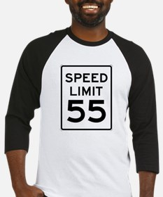 55-MPH Speed Limit Day Baseball Jersey