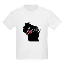 Wisconsin Love T-Shirt