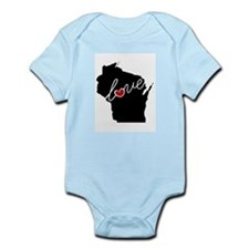 Wisconsin Love Infant Bodysuit
