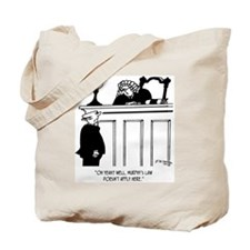 Judge Cartoon 4588 Tote Bag