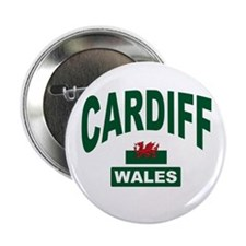 Cardiff Wales Button