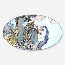 Dulac Mermaid Treasure Decal