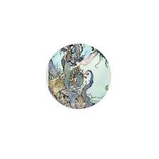 Dulac Mermaid Treasure Mini Button