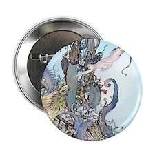 "Dulac Mermaid Treasure 2.25"" Button"