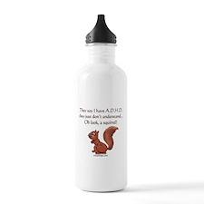 ADHD Squirrel Water Bottle