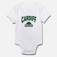 Cardiff Wales Infant Bodysuit