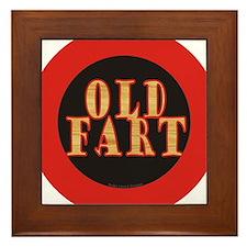 Old Fart Framed Tile