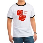 Lucky Dice Ringer T - red dice