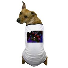 Abstract Owl Dog T-Shirt