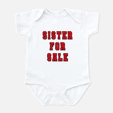 Sister For Sale, Infant Bodysuit