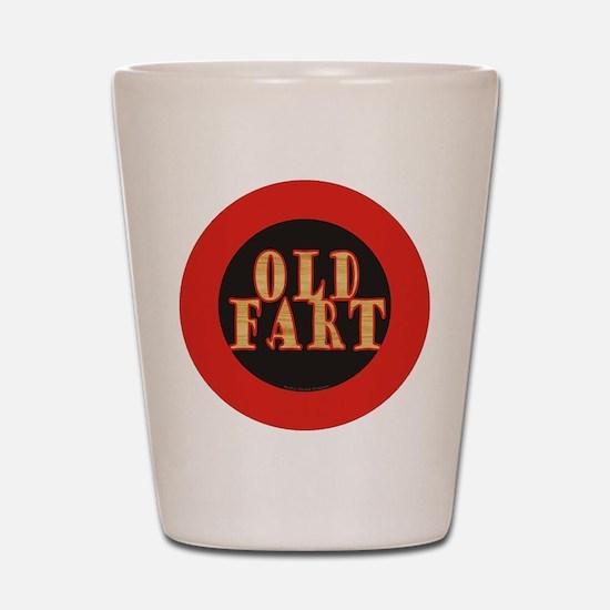 Old Fart Shot Glass