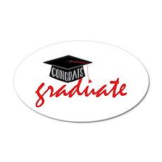 Congrats Graduate Wall Decal