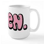 Taken Large Mug