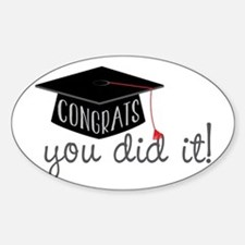 You Did It! Decal