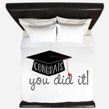 You Did It! King Duvet