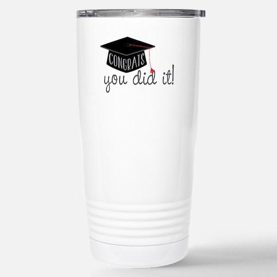 You Did It! Travel Mug