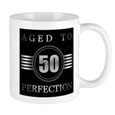 50th Birthday Aged To Perfection Mugs