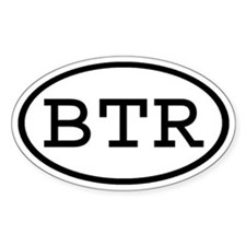 BTR Oval Oval Decal