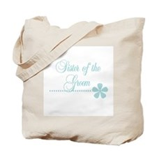 Sister of Groom Tote Bag