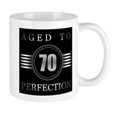 70th Birthday Aged To Perfection Mugs