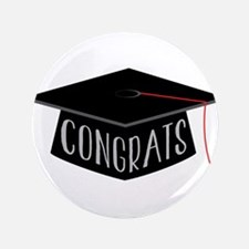 "Graduation 3.5"" Button"