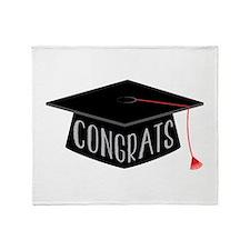 Graduation Throw Blanket