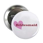 "Bridesmaid 2.25"" Button (10 pack)"