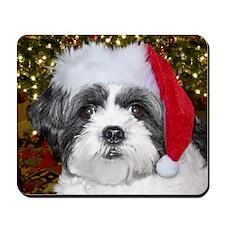 Christmas Shih Mousepad