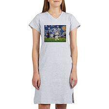 Starry-AustralianTerrier2.png Women's Nightshirt