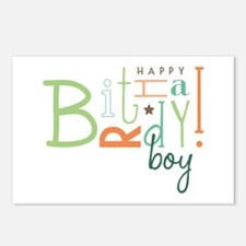 Birthday Boy! Postcards (Package of 8)