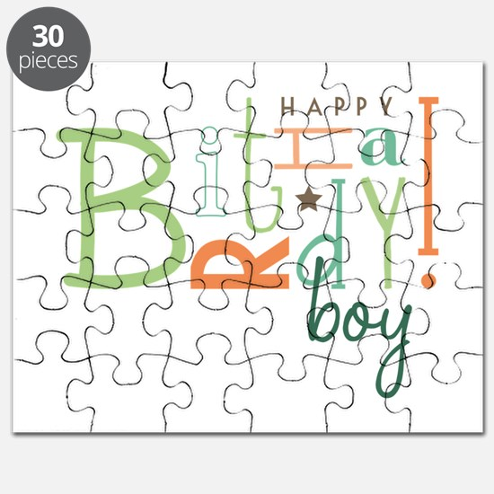 Birthday Boy! Puzzle