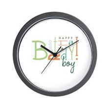 Birthday Boy! Wall Clock