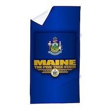 Maine (v15) Beach Towel