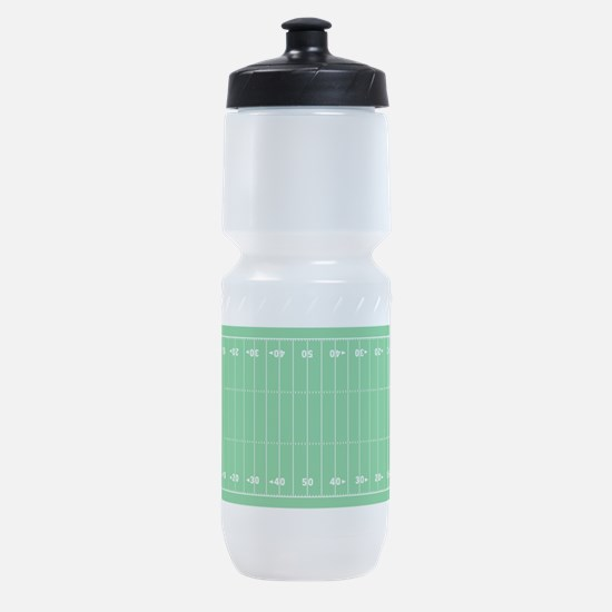 Football Field Accurate and Green Sports Bottle