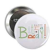 "Happy Birthday! 2.25"" Button (100 pack)"