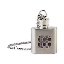 FOXY HAIR STYLIST Flask Necklace