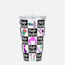FOXY HAIR STYLIST Acrylic Double-wall Tumbler