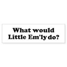 Little Em'ly Bumper Bumper Sticker