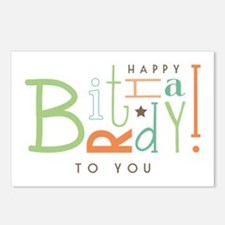 Wishing Happy Birthday! Postcards (Package of 8)