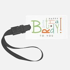 Wishing Happy Birthday! Luggage Tag
