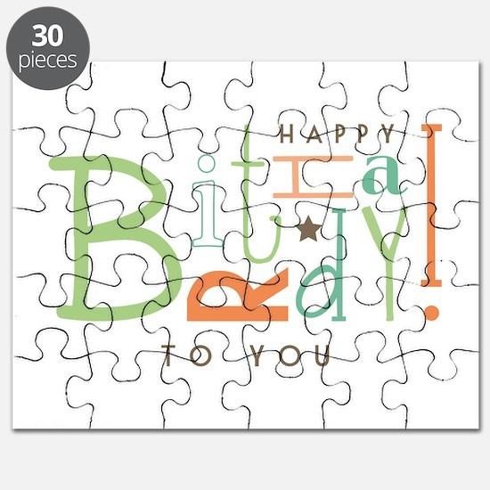 Wishing Happy Birthday! Puzzle