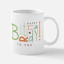 Wishing Happy Birthday! Mugs
