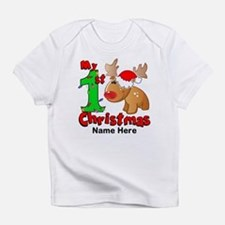 My 1st Christmas Reindeer Infant T-Shirt