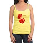 Lucky Dice Jr. Spaghetti Tank - red dice