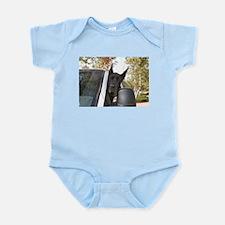 CBlk Going Now? Infant Bodysuit