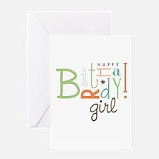 Birthday Girl! Greeting Cards