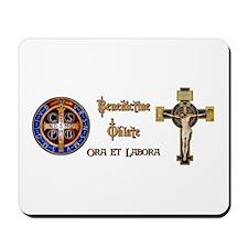 Benedictine Oblate Mousepad