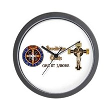 Benedictine Oblate Wall Clock